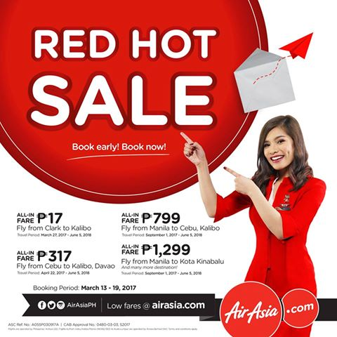 AirAsia's Red Hot Seat Sale is back!