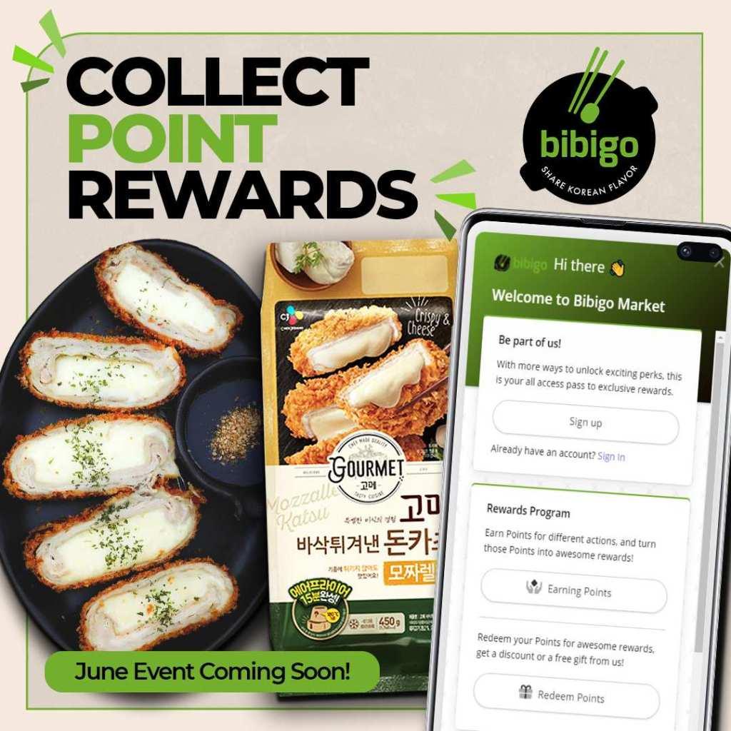 Bibigo Collect Point Rewards June