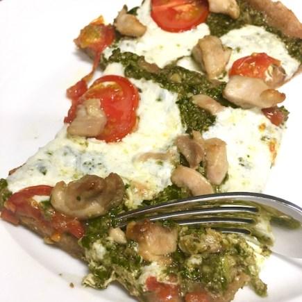 Chicken Caprese Pizza