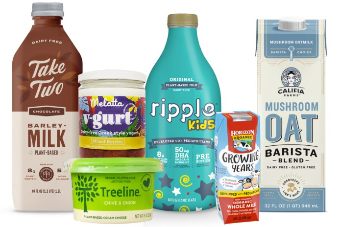 Dairy and dairy alternatives