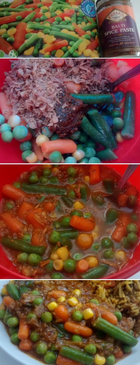 Microwave Vegetable Curry