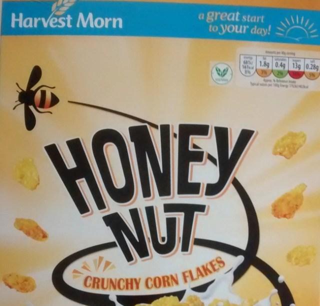 Harvest Morn Honey Nut Crunchy Corn Flakes Aldi