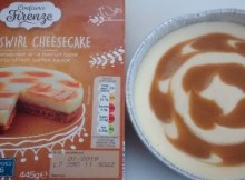 Confiserie Firenze Toffee Swirl Cheesecake Review Lidl