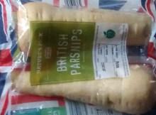 Parsnip Rounds Parsnip Strips Aldi Christmas Veg 19p