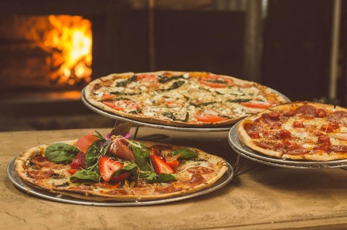 pizza wood-fired