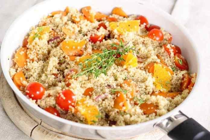 Spring Vegetable Grain Bowl