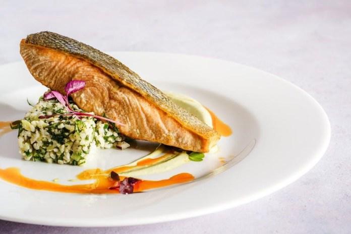 Lemon-Herb Roast Salmon