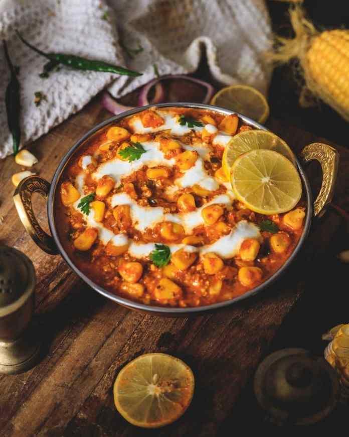 Indian food  Chana Masala