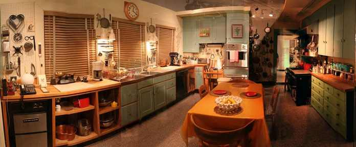 Julia Child's Kitchen on display at the National Museum of American History