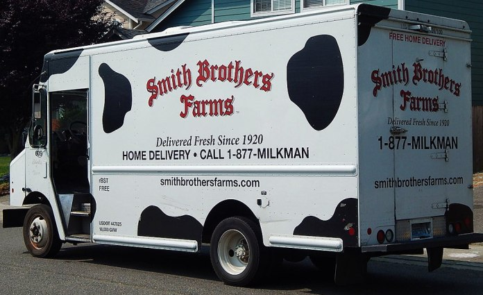 Bye-bye milkman delivery