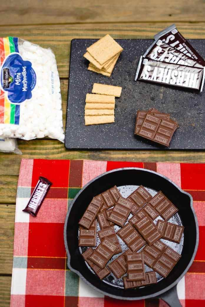 Celebrating a summer classic: s'mores!