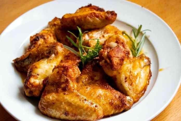 Perfect bar food: Smoky maple and barbecue chicken wings