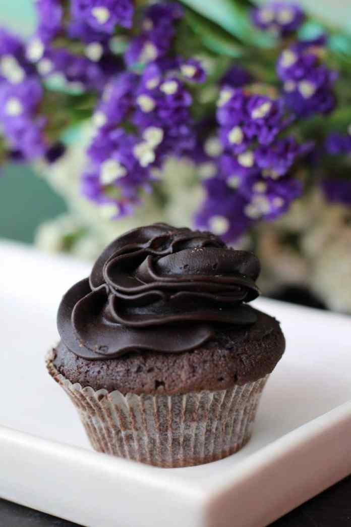 Herbaceous cupcakes