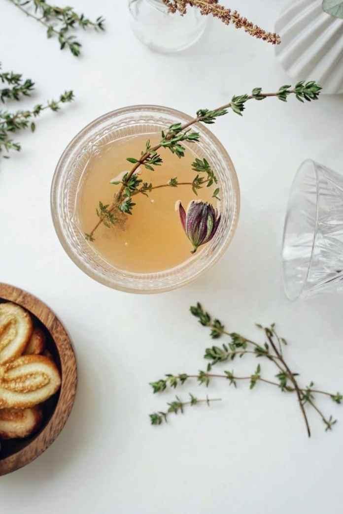 Hibiscus Coconut Fizz Non-Alcoholic Cocktail Recipe