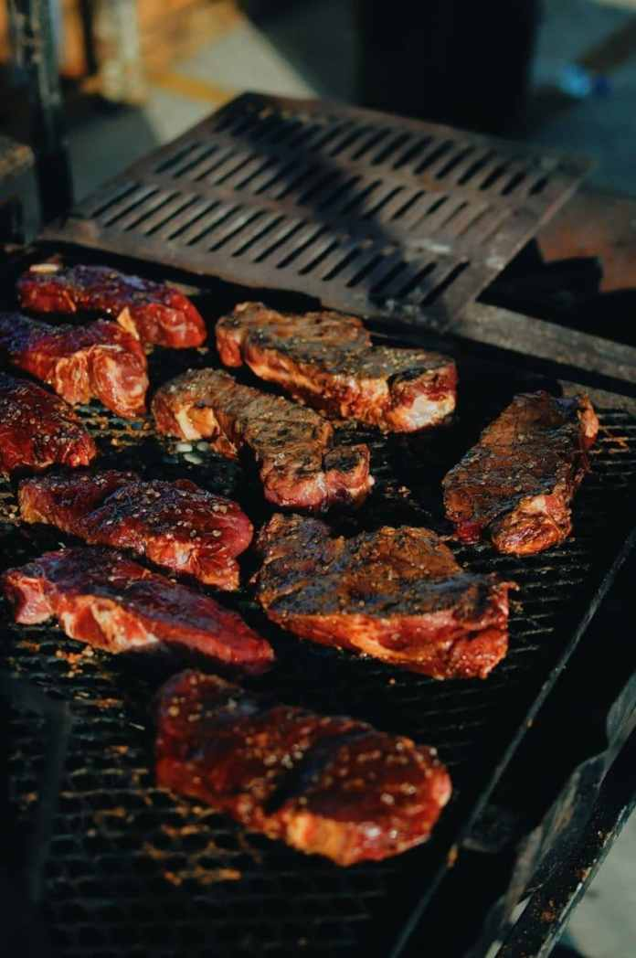 Smoky-sweet steak supper