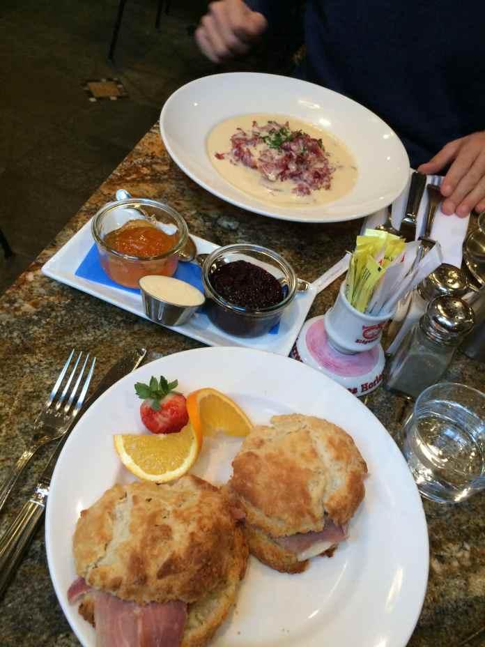 Blue Talon Bistro Breakfast