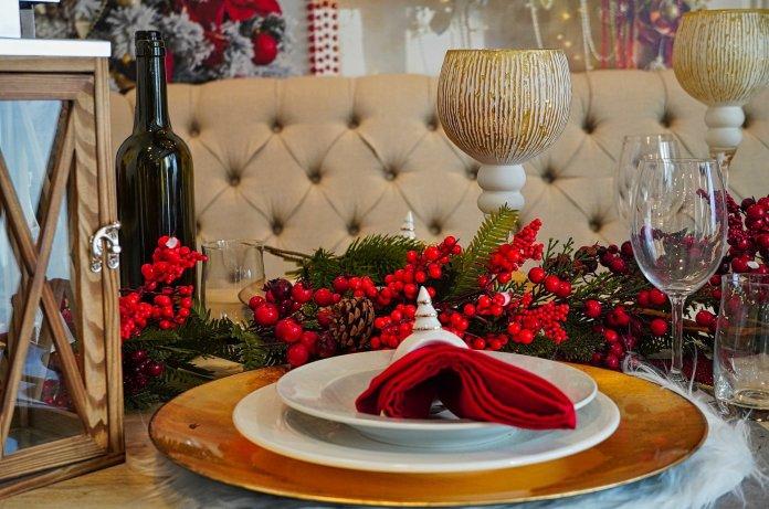 Christmas in the Restaurant