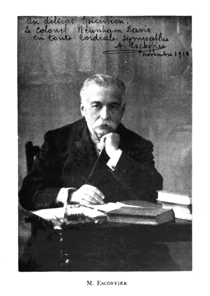 The World of Culinary Schools: Auguste Escoffier