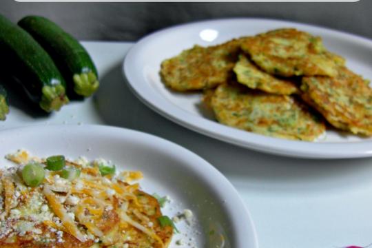 zucchini fritter gluten free