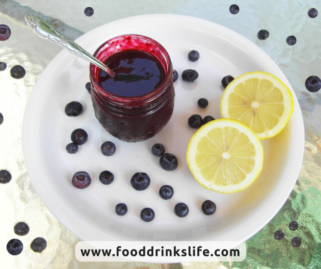 Blueberry Lemon Syrup | Food Drinks Life