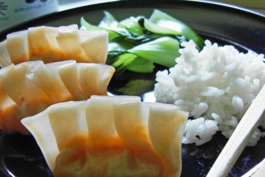 Kimchi Dumplings | Food Drinks Life