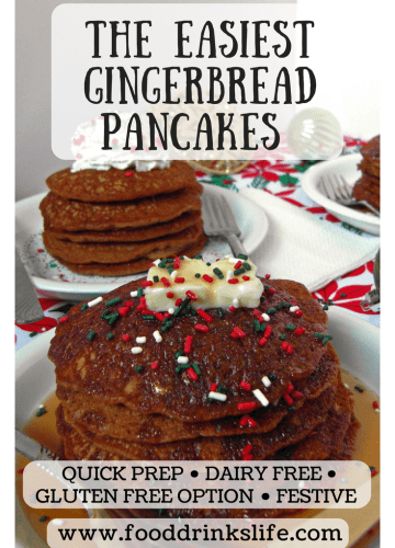 The Easiest Gingerbread Pancakes | Food Drinks Life