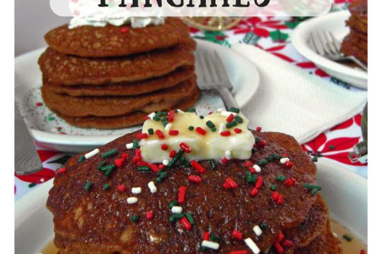 The Easiest Gingerbread Pancakes | Food Drinks Life