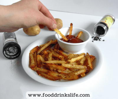 How to Make Baked Fresh-Cut French Fries | Food Drinks Life