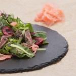 Salmon and Beef Salad