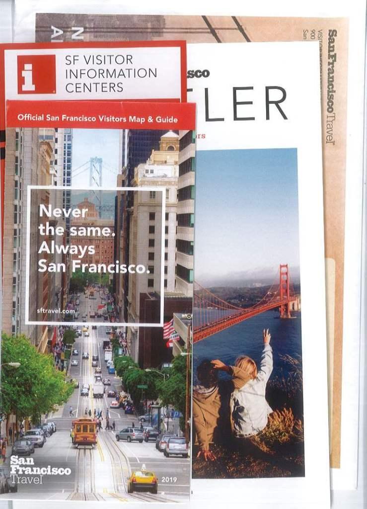 Vistor kit a pagamento di San Francisco. Mappa e guida.