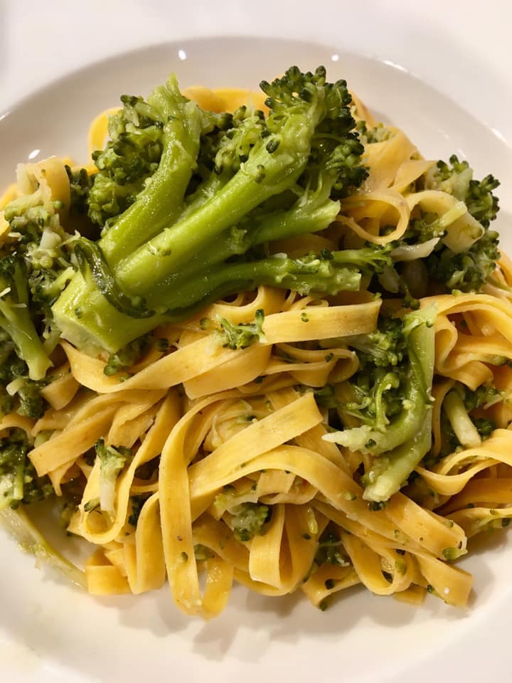 PASTA FRESCA CON BROCCOLI A EATALY WORLD