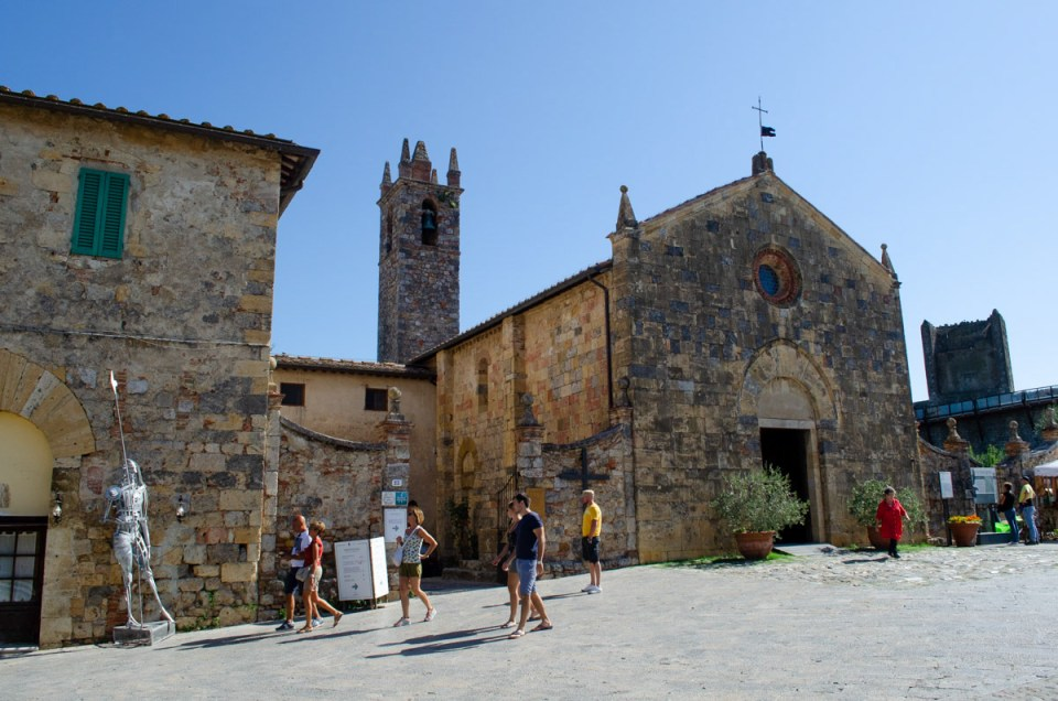 La Pieve di Monteriggioni