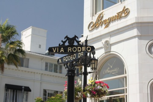 Rodeo Drive a Beverly Hills.