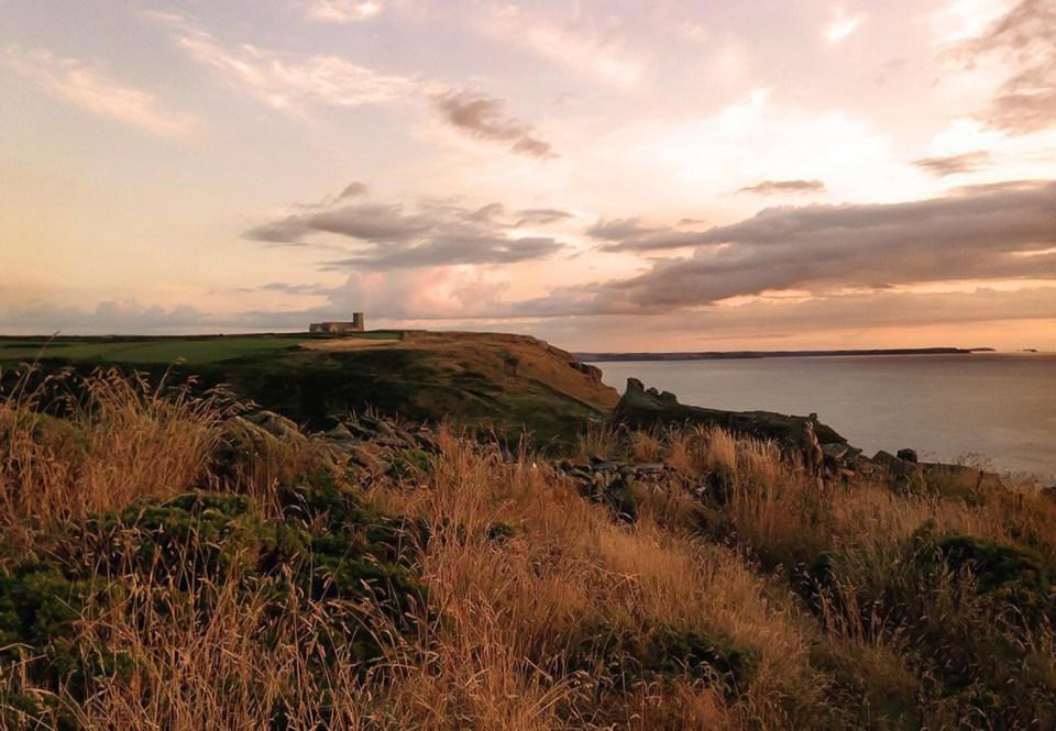Tintagel tramonto - tour cornovaglia