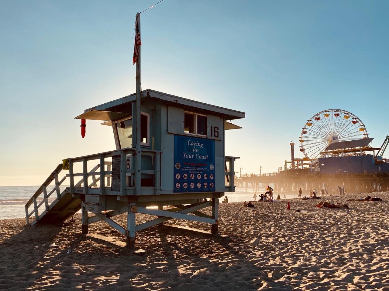 Una giornata a Santa Monica: Baywatch arriviamo!