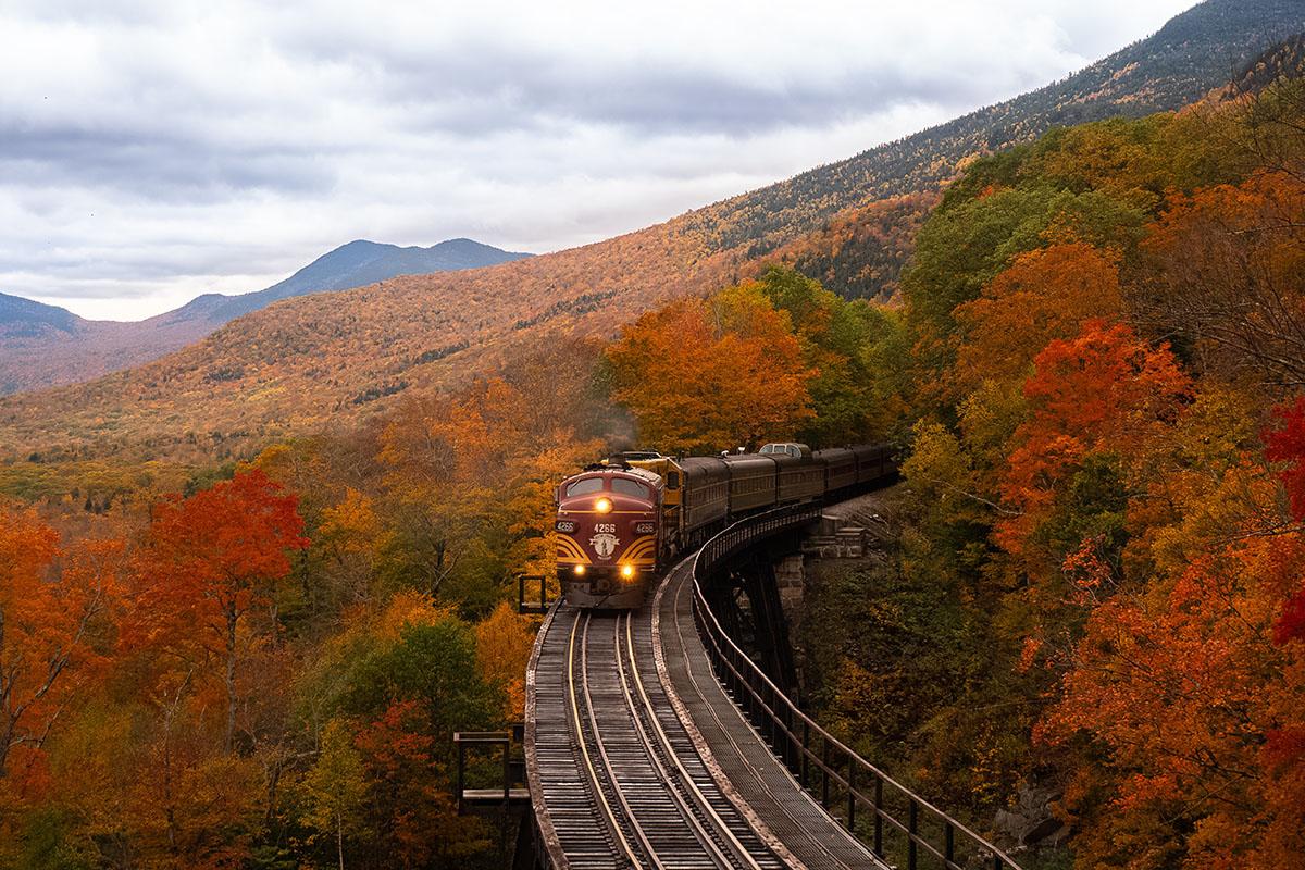 Foliage in Italia, ecco i migliori percorsi da fare in treno!