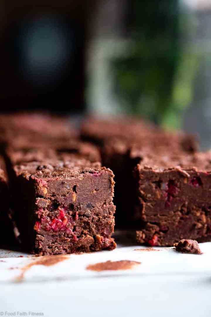Chocolate Raspberry Paleo Coconut Oil Fudge A Healthy Quick And Easy Freezer Recipe