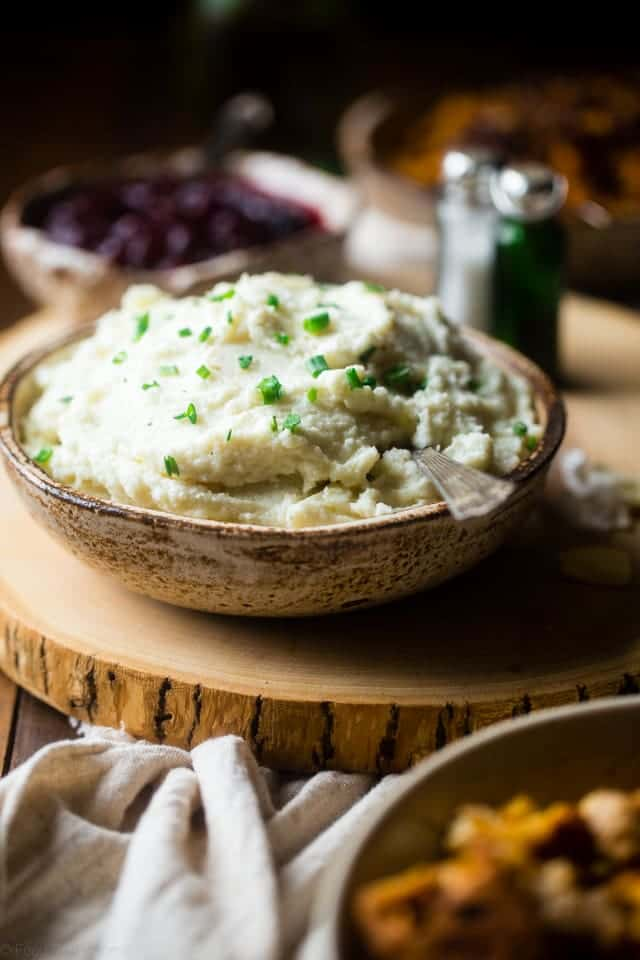Mashed Cauliflower And Potato Potatoes