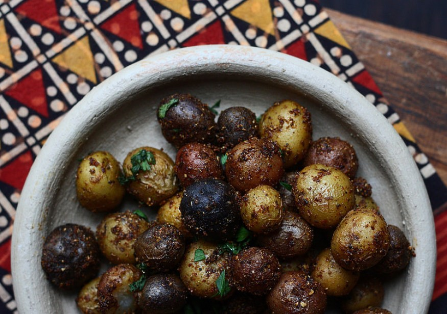 SPICY FENNEL ROASTED POTATOES