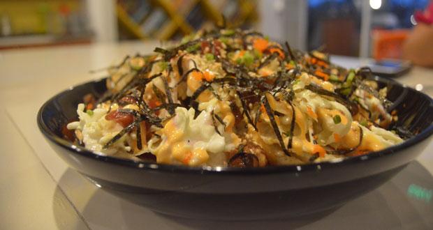 nacho hai, appetizers, onboard, onbaord game + gastropub, board game cafe