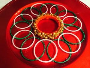 Make Karwa Chauth Ki Thali With Chooris Bindis Sindoor