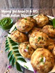 Moong Dal Appe-South Indian style