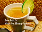 All Natural Detox Drink for Weight loss, Bloating and Gas/ Flatulence