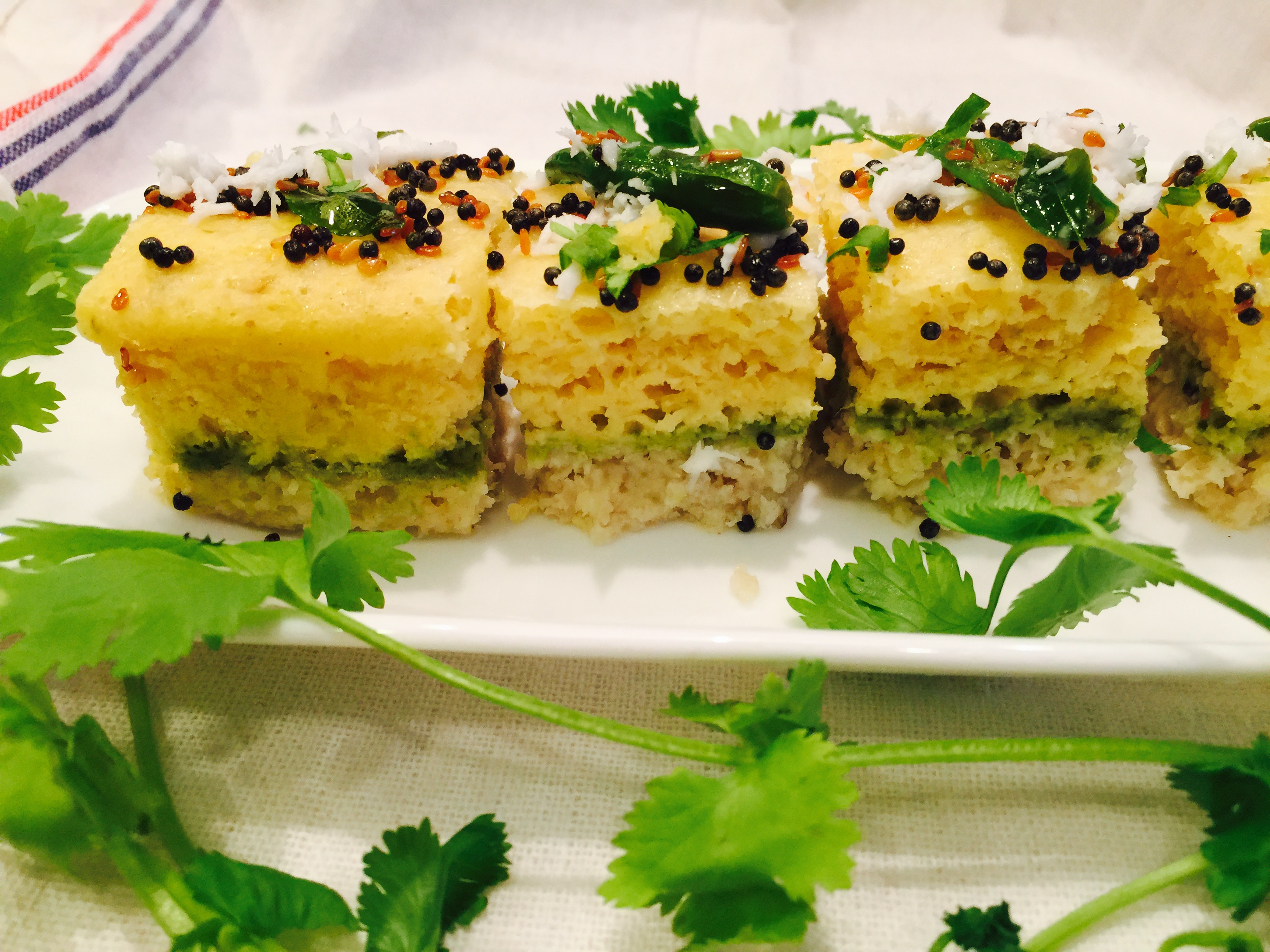 Sandwich dhokla with dosa batter food fitness beauty and more forumfinder Images