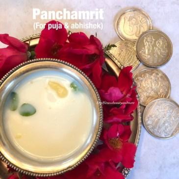 Panchamrit/Charnamrit for Diwali/Janamashtmi/Shivratri Puja and Abhishek