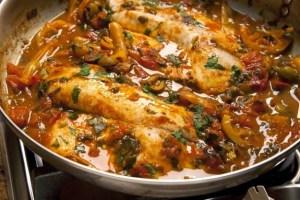 Moroccan Chraimi Fish Recipe
