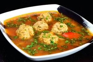 Romanian Meatball Soup | Ciorba de Perisoare
