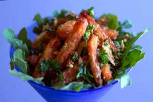Garlic Carrot Fries