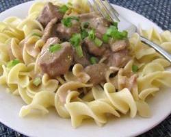 Slow Cooker Beef Stroganoff I