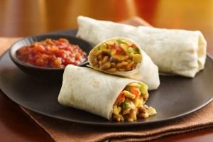 Tourtiere Burrito